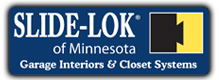 Garage Interiors & Closet Systems, Slide-Lok